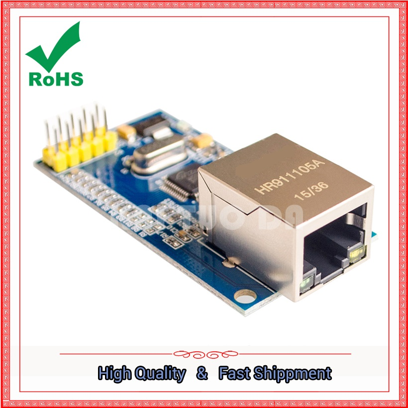 Network Module W5500 Full Hardware TCP / IP Stack Ethernet 51 / STM32 Microcontroller boardNetwork Module W5500 Full Hardware TCP / IP Stack Ethernet 51 / STM32 Microcontroller board