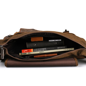 Image 5 - Ruil Bolso de lona multifunción para hombre, bandolera Retro, bolsas de viaje, bolsa de mensajero de hombro, paquete de ocio, novedad de 2018