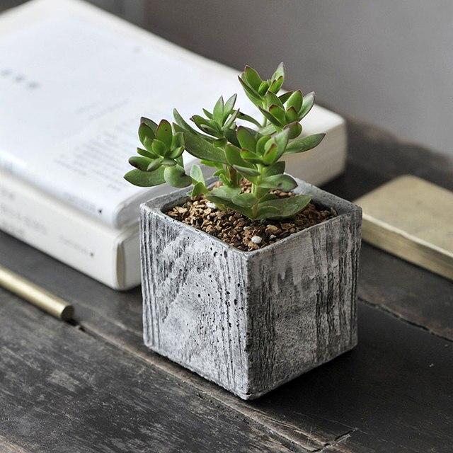 Us 88 Pulpit Mini Ceramiczne Doniczki Kwiat Duszpasterska Zielone Rośliny Doniczkowe Kreatywny Generic Kamień Cena Hurtowa Wysokiej Jakości Nie