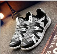 Summer men's casual shoes thick bottom sandals boy Fly woven coconut breathable shoes yeezys men shoes