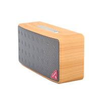 Wooden Bluetooth Speaker Portable Stereo Speaker With FM Radio Support TF USB Handsfree Call For Home