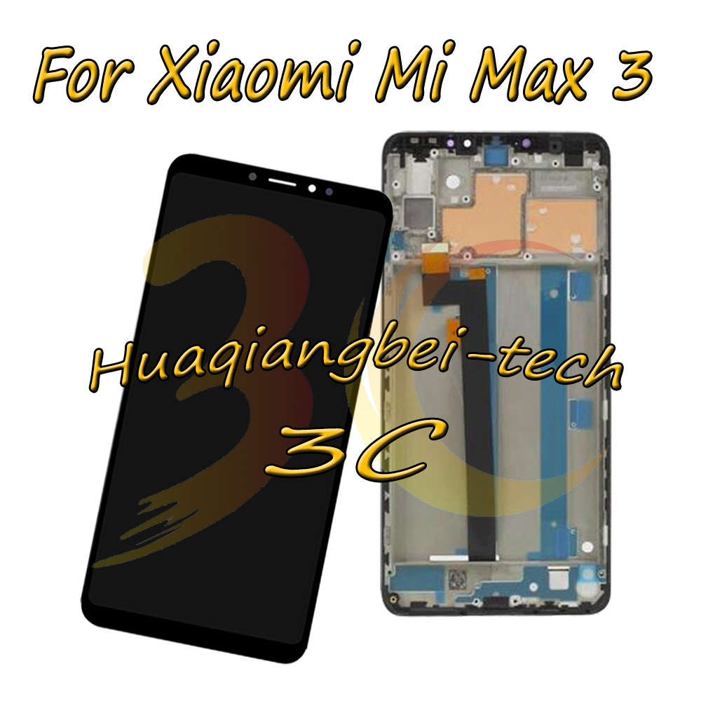 New 6 9 For Xiaomi Mi Max 3 MiMax 3 M1804E4A M1804E4C Full LCD DIsplay Touch