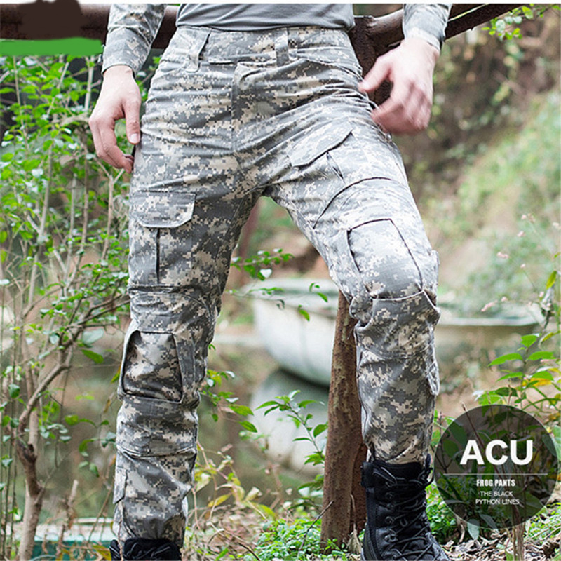 Decple Mens Tactical Military Camouflage Pants Casual Windproof Waterproof Warm Camo Paintball Army Pants For Male High Quaility