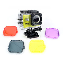Filter Lens For SJ4000 Action Camera Accessories UV Circle Mirror Diving Protective Cover cap for SJ4000 SJCAM Camera SJ04(China)