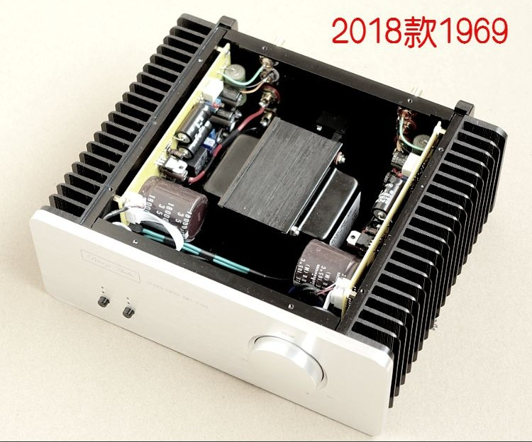 2018 1969 Power Amplifier Complete A Class 10W Loudspeaker Two Audio Signals Switch Input