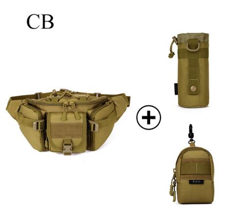 PROTECTOR PLUS Outdoor Tactical Hunting Bag With Molle Pouches Military Style Fishing Hiking Sports Waist Bags With Water Pouch