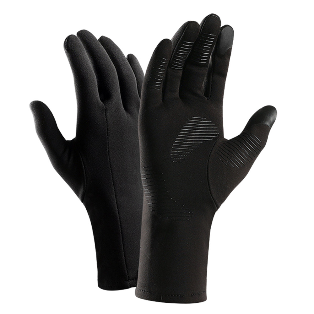 Winter Warm Windproof Waterproof Anti-slip Thermal Touch Screen Bike Ski Gloves(China)