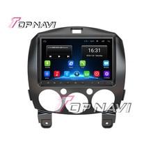 TOPNAVI 9 Android 6 0 font b Radio b font Car PC for Mazda 2 2010