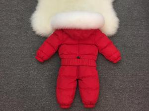Image 2 - 2019 New Baby Boys Girls Winter Rompers Children Outerwear Jackets Coats Thicken Winter Warm Hoodie Clothes Windproof Snowsuit