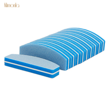 20pcs/lot 100/180 Nail File Sanding Buffer Polish Block For UV Gel Manicure Care Sponge Cuticle Remover Tools