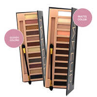 16/14/12PC Pigments Matte Eyes Shadow Palette Waterproof Glitter Shimmer Makeup Colors Nude Naked Professional Eyeshadow Palette