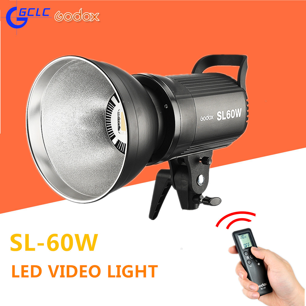 Godox White/Warm Version LED Video Lamp Studio Continous Light 5600 SL-60W SL-60Y for Camera DV Camcorder godox professional led video light