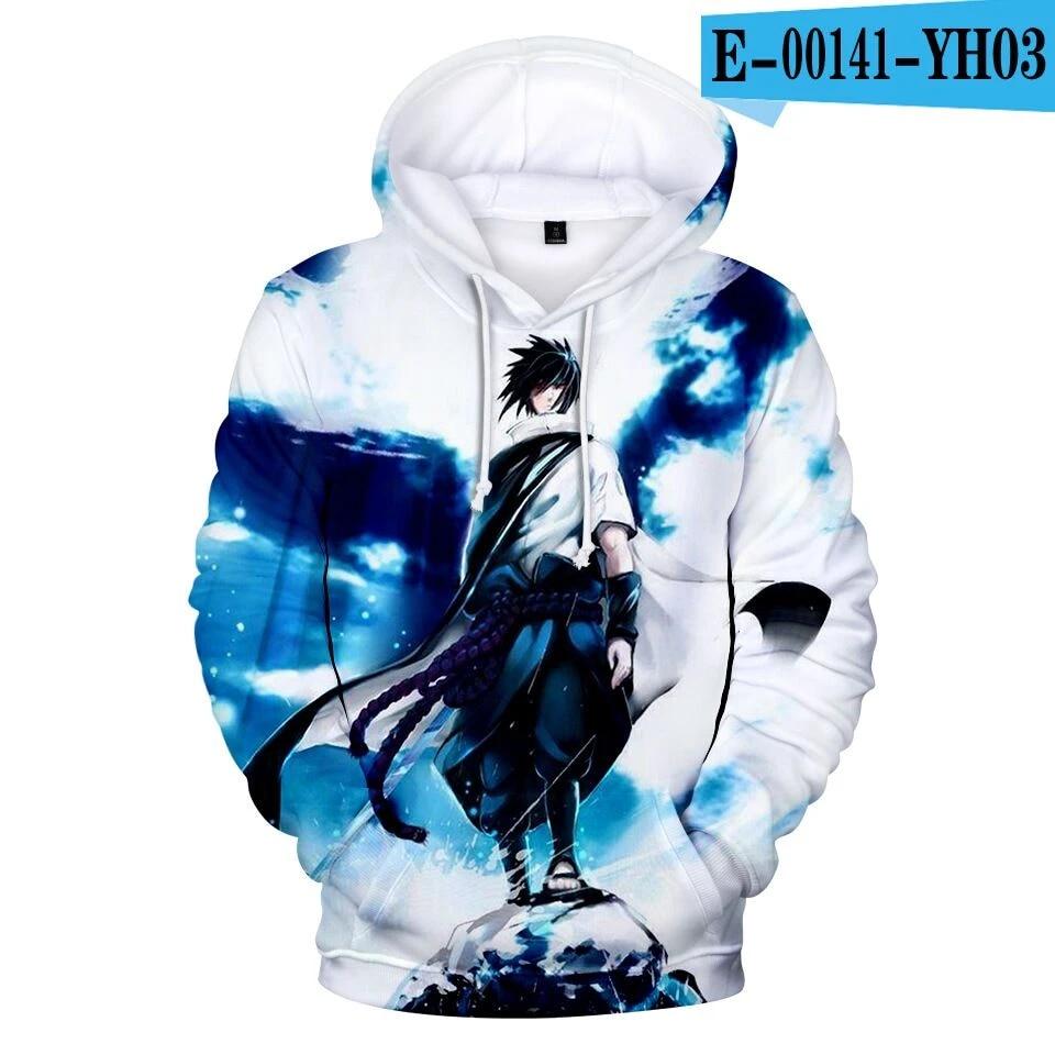 Anime Naruto Hoodies Hommes Femmes Pulls 3D Hooded Oversized Sweatshirts Xxs-4Xl Naruto 3D Hoodies Enfants Tops