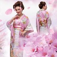 2018 summer Japanese Kimono Women Yukata Traditional Kimonos Female Bathrobe Japanese Ancient Clothes Costume