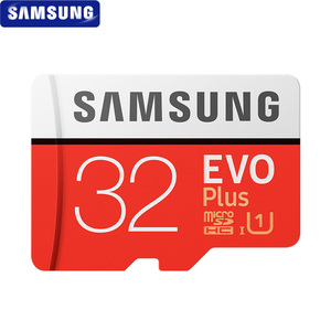 Image 2 - Original SAMSUNG Microsd Card 256G 128GB 64GB 32GB 100Mb/s Class10 U3 U1 SDXC Grade EVO+ Micro SD Card Memory Card TF Flash Card