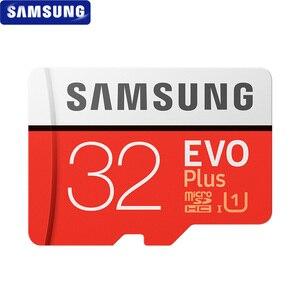 Image 2 - SAMSUNG tarjeta Microsd 256G, 128GB, 64GB, 32GB, 100 Mb/s, Class10, U3, U1, SDXC, tarjeta de memoria EVO +, tarjeta Flash TF