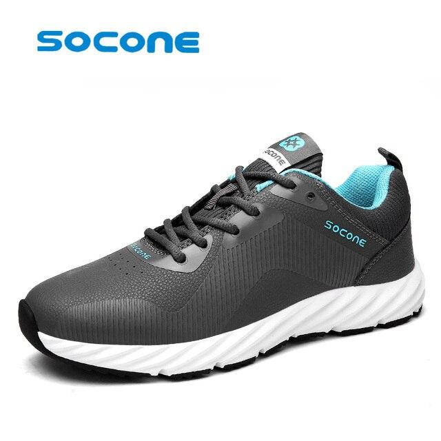 Socone Automne Nouvelle Conception de Course Hommes Chaussures Respirant  Chaussures de Sport homme Courant des Espadrilles