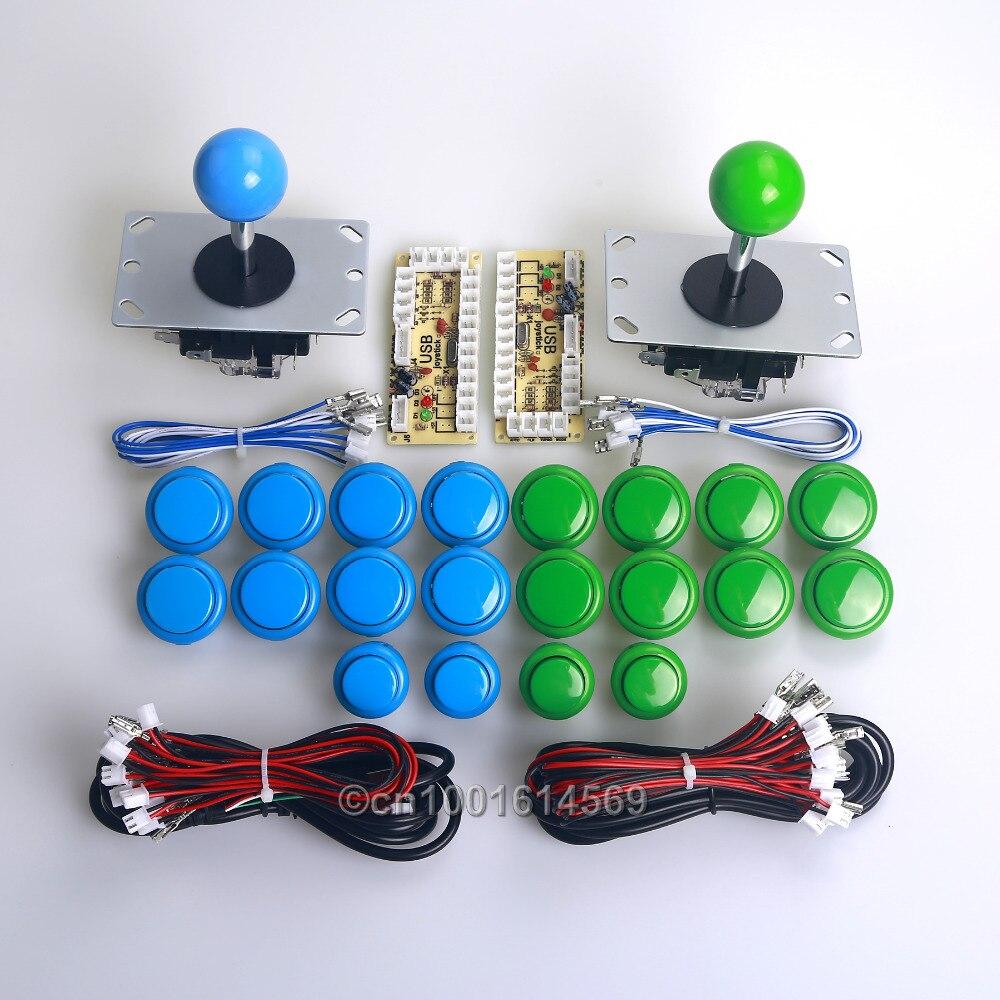 2 Player Null Verzögerung MAME Schrank DIY Kits Teile Encoder Board &...