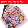 Case para lenovo tab 2 a10-70, moda cubierta protectora de la tableta para lenovo tab 2 a10-70l a10-70f 10.1 ''para lenovo tab 2 a10-70l