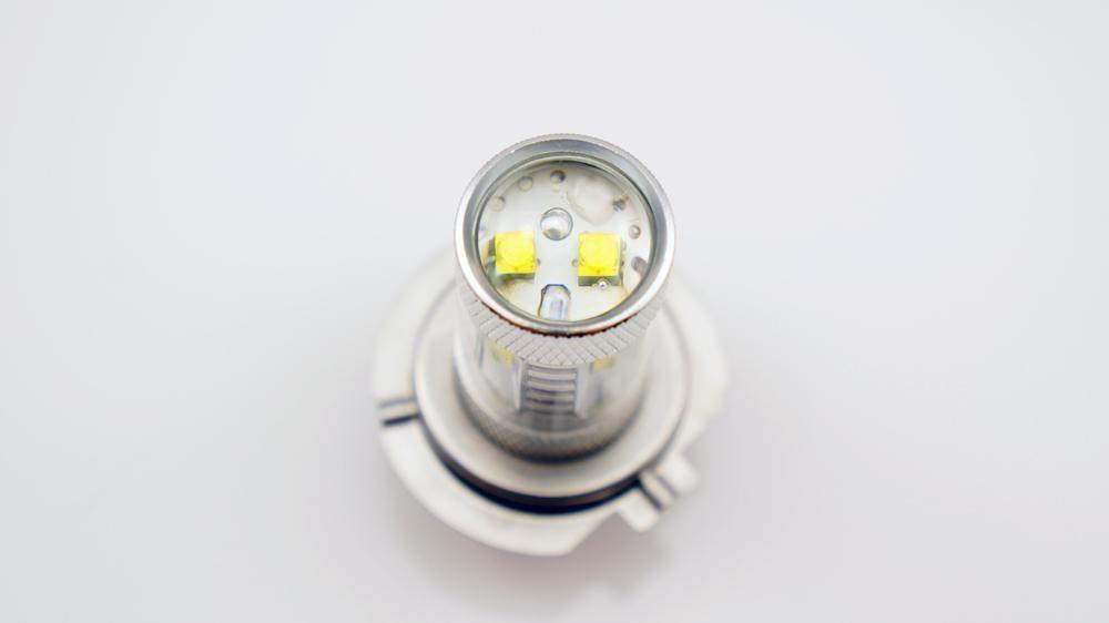 2 шт. H10 9140 9145 из светодиодов кри 30 Вт яркий противотуманные фары лампочка белый DRL ближнего света фар 600 люмен белый желтый