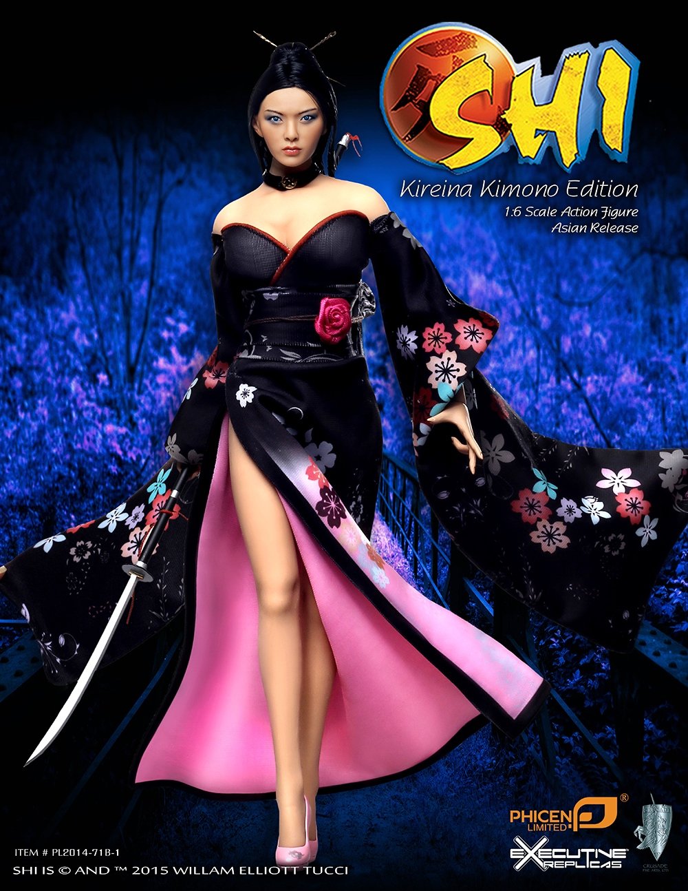 PL2014-71B-1 1/6 Scale SHI in Kimono Asia Version W Flexible Body Colletible Model Toys Action Figure In Stock Limited рубашка мужская holy shi bao 11010006 2014