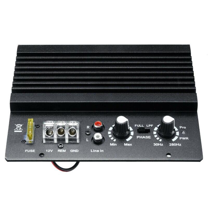 Black 1000W Mono Car Audio Amplifier Amp Board Powerful Bass Subwoofer DC 12V