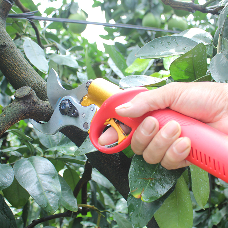 FPQ 828 40mm electric pruning shears, CE pruner (8-10 hours lasting)