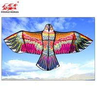 1,5 м/1,8 м/2,4 м красочные орлы кайт длинный хвост нейлон Открытый летающие игрушки для детей трюк kite Surf с Управление бар