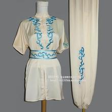 Chinese wushu uniform Kungfu clothing Martial arts wear changquan outfit taolu suit for men girl boy children women kids adults