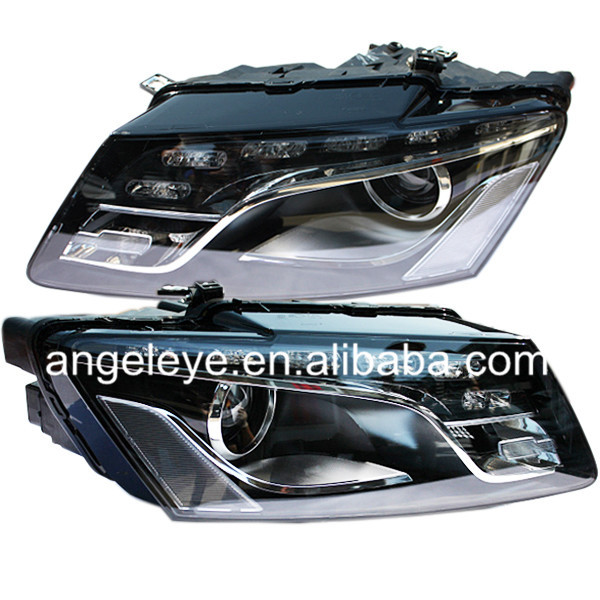 For Audi for Q5 LED Head Light with HID KIT in the Low Beam 2010 TO 2012 Year