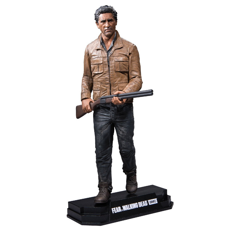 Fear the Walking Dead American TV 7 inch Walker Travis Travis puppet figure model худи print bar the walking dead