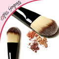 Fundación cepillo de Pelo Sintético suave Belleza Make up Cosmetics Base Cepillo Para La Cara Base maquillaje Mujeres Marca de Calidad