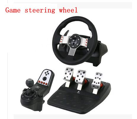 Logitech / Logitech G27 / GT5 game steering wheel boxed simulation Need for Speed ps3 racing 900