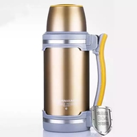 Household Insulation pot Outdoor Sport portable 304 stainless steel Vacuum Flask hot water bottle car large thermos mug