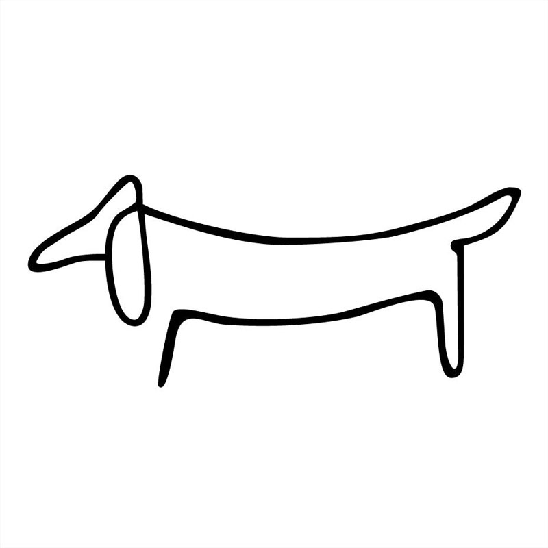 14*6.1CM Dachshund Dog Creative Cartoon Window Decoration Accessories Car Stickers Decals C6-1442 15 5 12 7cm rottweiler dog vinyl decal cartoon animal car window decorative stickers motorcycle accessories c6 0240