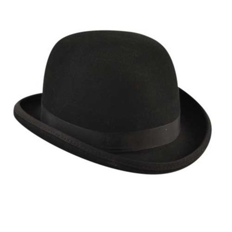 Bailey Ofhollywood Fashion 100% Wool Women's Men's Fedora Hat Crushable Hantom lr Amir Khan Bowler Hat Luxury Billycock Hats