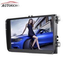 9″ Android 6.0 2Din Volkswagen Dedicated Car Multimedia Player Quad-core WIFI Video FM Radio Player GPS Navigator HD Reversing