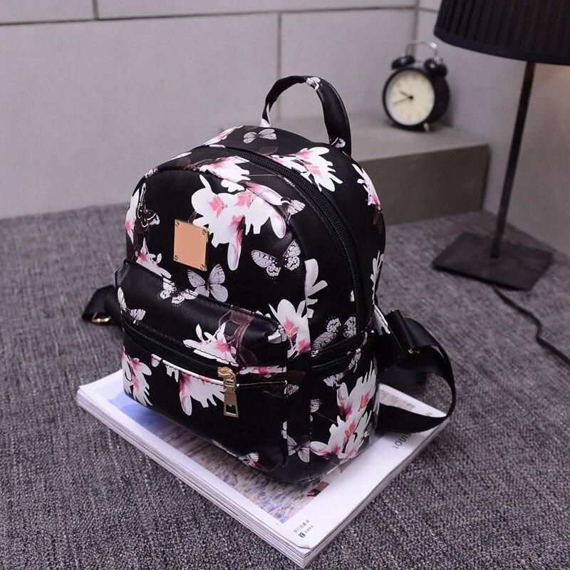 2017 novo lazer floral mulheres Modelo Número : 4490 Women Backpack