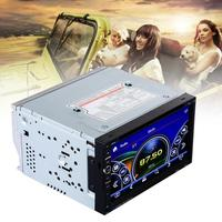 Universal EU 2 DIN Win ce 7 Inch Touch Screen Stereo CD DVD Player Car 2.1 FM Radio With Remote Control