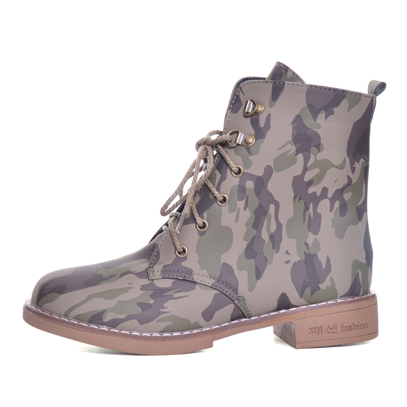 HEE GRAND Haute Qualité Femmes Désert Bottes Chaud Zip Armée Vert Automne  Chaussures Dame Fille Camouflage Chaussures D hiver D équitation XWX6351  dans ... 0bb8fc13381