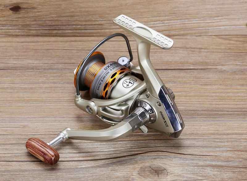 بكرة صيد جديدة 2019 لمصافحة الصيد الخشبية 12 + 1BB بكرة صيد احترافية معدنية لليسار/اليمين عجلات بكرة صيد