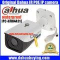 2017 New original Dahua 4MP IP67 IR40M POE IP Bullet Camera IPC-HFW4421E free shipping