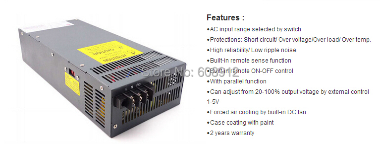 atx computer Switch Mode Power Supply smps AC to DC Convert SCN 800W ...