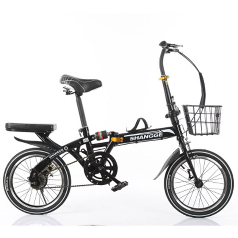 Folding Bicycle 20-Inch Speed Change Three-Knife Disc Brake For Adult Men And Women Ultra-Light Students Portable Small Bicycle