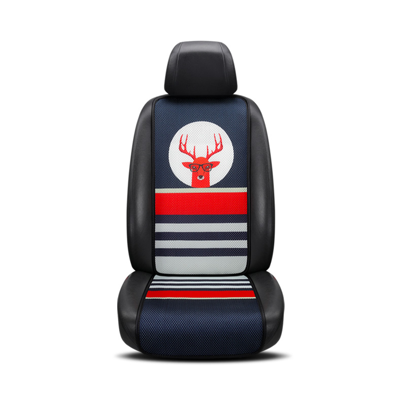 Подушки сиденья автомобиля Универсальный Fit удобные 3D Сотовая связь Технология Four Seasons Авто Чехлы Автокресло протектор 2 шт.
