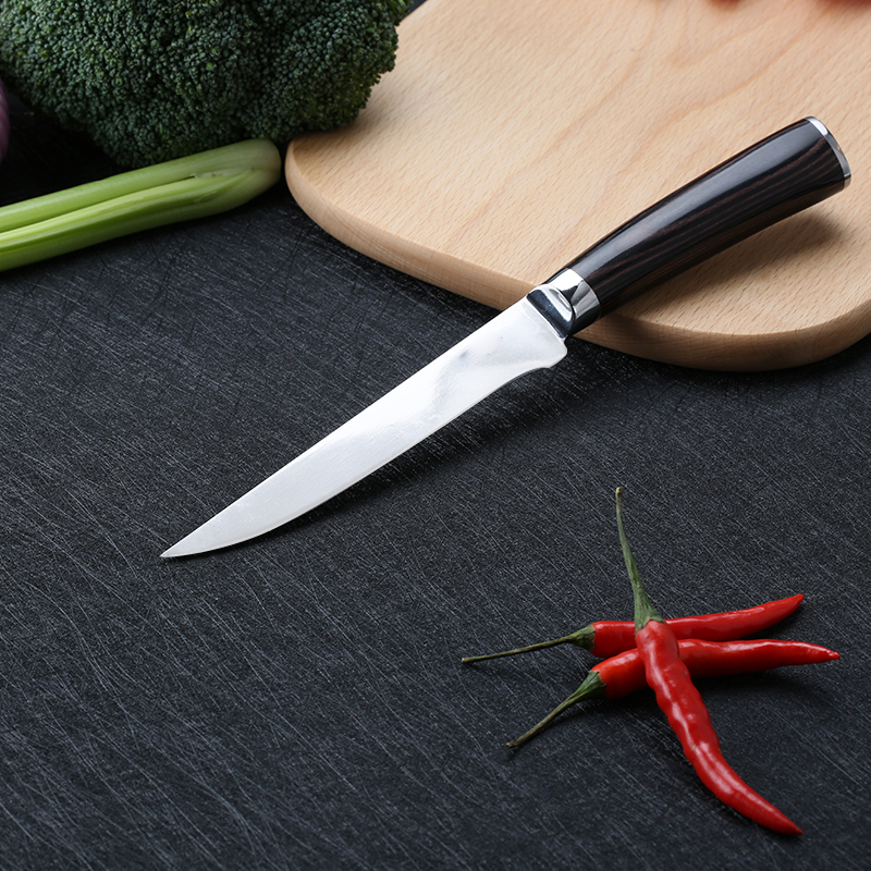 professional chef knife 7cr17 curved sharp flexible boning