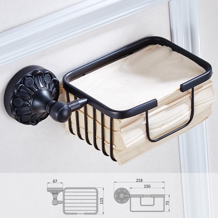 auswind Black Bronze Oil Bathroom Towel Rack Wall Mount Antique Paper Net Brass Round Base Carved Bathroom Accessories K6117 таблетки для посудомоечных машин all in one silver 56 шт paclan ра 020014