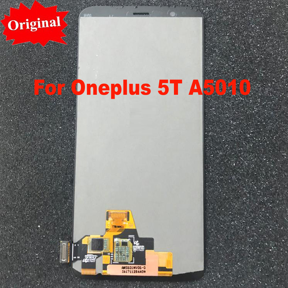 Original LCD Display + Digitizer Touch Screen Assembly For Oneplus 5T 5 T A5010 Smart Phone Replacement sensor fix glassOriginal LCD Display + Digitizer Touch Screen Assembly For Oneplus 5T 5 T A5010 Smart Phone Replacement sensor fix glass