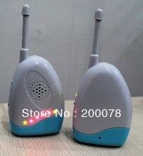 200 meter audio babyfoon draadloze vibratie alarm elektronische baby telefoon beveiliging met nachtzicht ~ Freeshipping
