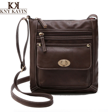 2016 Fashion Solid Color Women Shoulder Bags Famous Brand PU Leather Multi-Pockets Messenger Bag Ladies Crossbody Handbags Small
